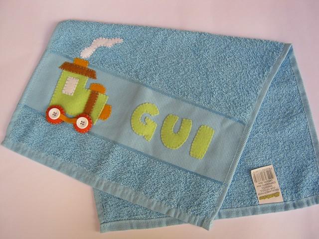 Mais uma toalhinha de bebê! by Arte & Mimos