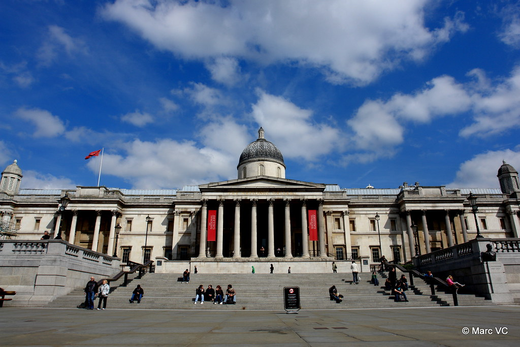National Gallery, as seen from Trafalgar Square