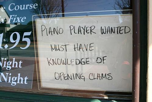 Pretty specific job description!