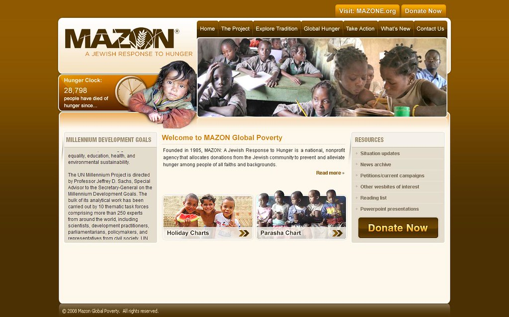 MAZON Global Poverty | MAZON Global Poverty is a national or… | Flickr