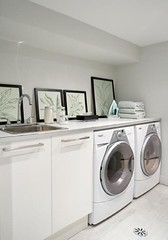Small Basement Laundry Room Makeoversmall Basement Movie Room