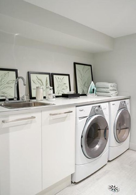 Bright Basement Laundry Room Design Flickr Photo Sharing