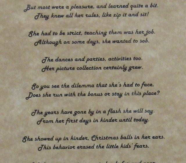Retirement Gift --- Poem | Flickr - Photo Sharing!