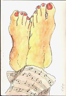 My feet :)
