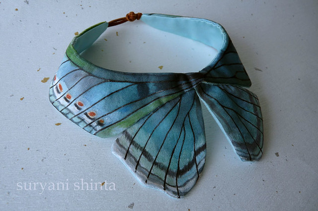 the Kupu - Kupu Butterfly Collar