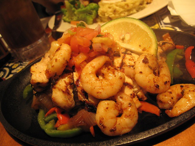 Chicken and Shrimp Fajitas from Chili's
