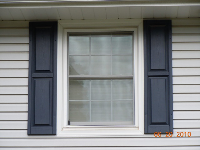 Double Hung Windows With Grids : White double hung window with grids flickr photo sharing