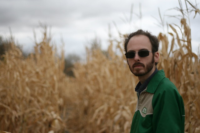 Jason in the corn maze