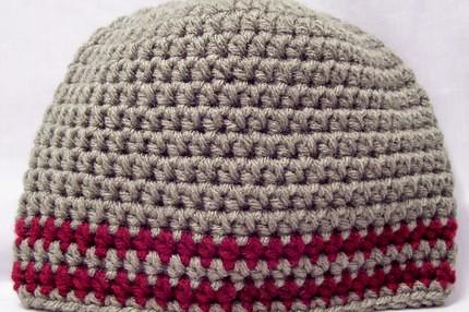 Patron de gorros a crochet para hombre - Imagui
