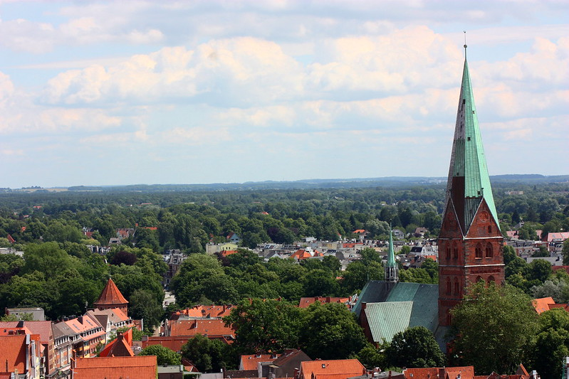 Lübeck from  Above 1