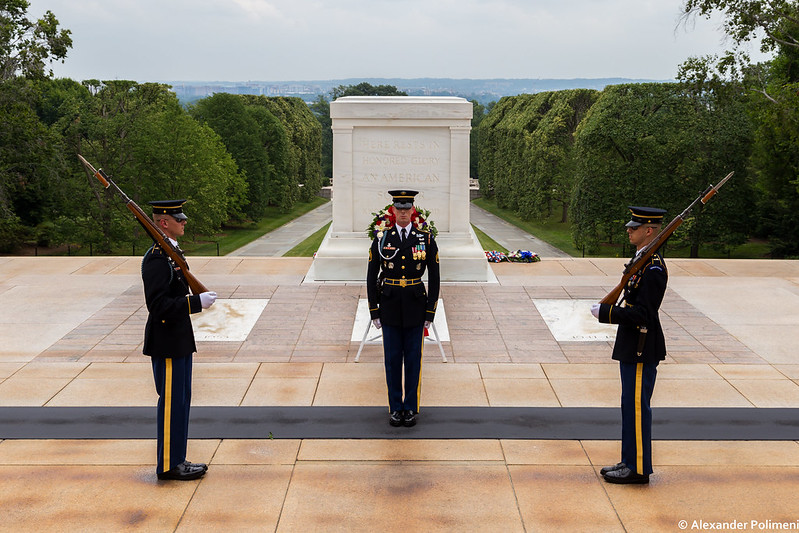 Changing of the Guard - Tomb of the Unknown Soldier