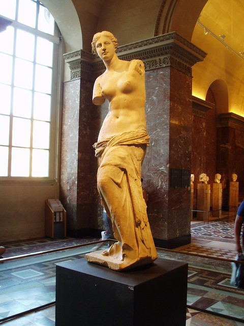 aphrodite of melos 阿芙蘿黛蒂(希臘語: αφροδίτη 、拉丁語: aphrodite )是希臘神話中是代表愛情、美麗與性慾的女神。 拉丁語族的「金星」和「星期五」等字符都來源於她的羅馬名字:在羅馬神話中與阿芙蘿黛蒂相對應是維納斯(拉丁語: venus ),但她與維納斯不同的是,阿芙蘿黛蒂不只是性愛女神,她也是.