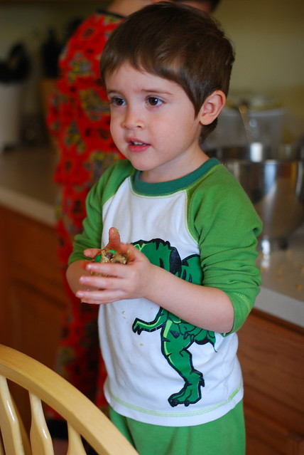 Christmas Eve - making cookies