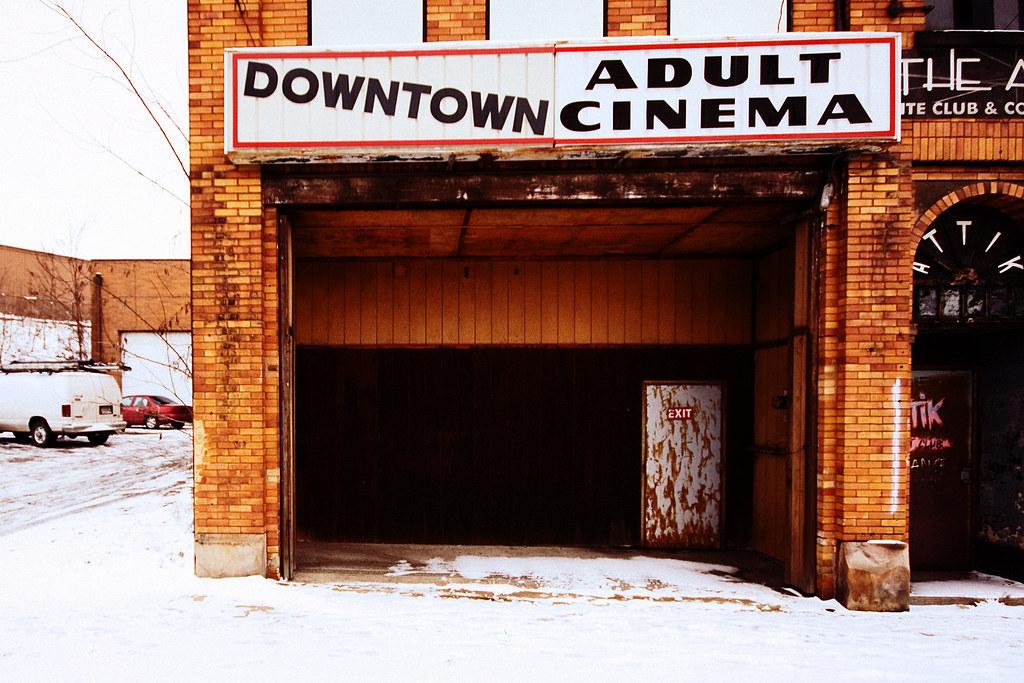Downtown adult cinema