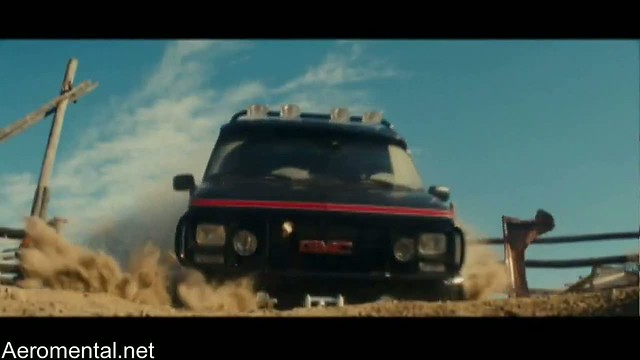 A-Team movie GMC van