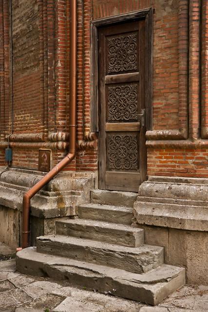 Christian church door with oriental design motifs   Flickr - Photo ...