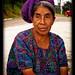 Guatemalan woman near Lake Atitlan