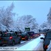 365-198 - Traffic Jam on A50 in the snow, Grappenhall, Warrington UK