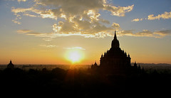 Bagan Myanmar Sunset1