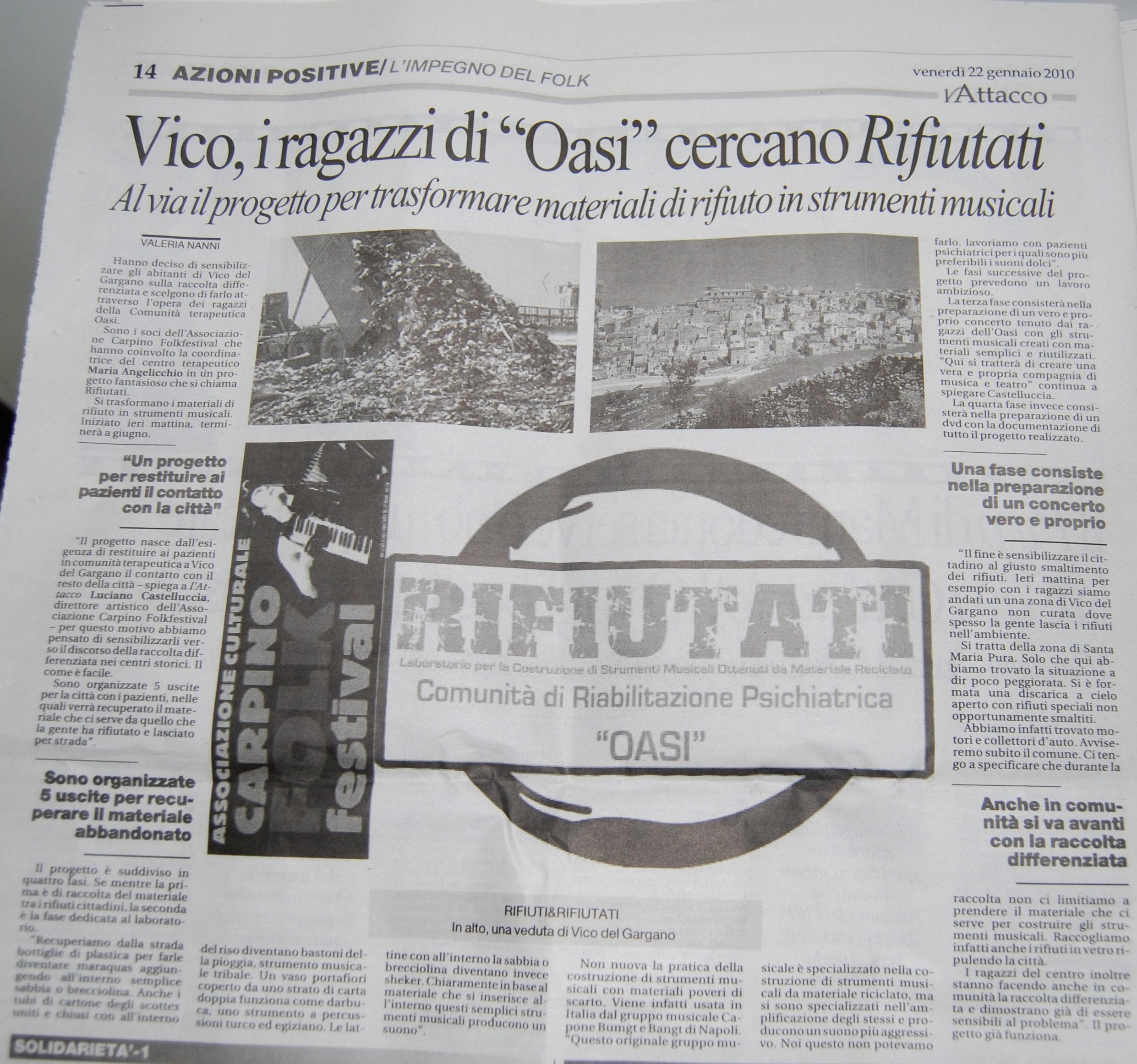 Vico del gargano antonio basile official blog - Progetto casa fossato di vico ...