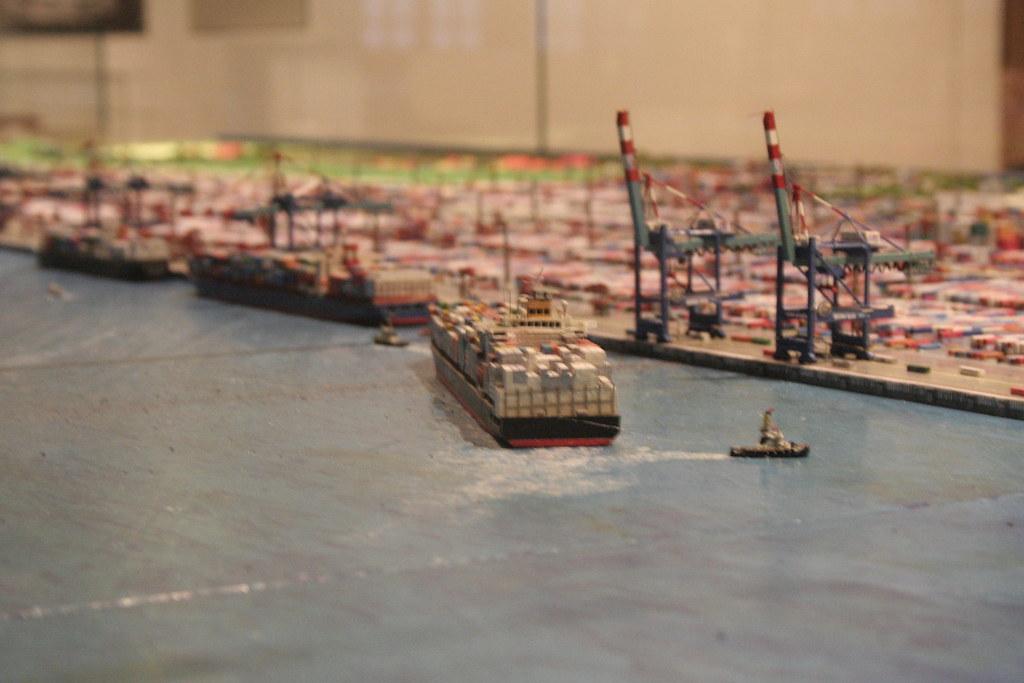 Harbor Model by Andrey Belenko, on Flickr