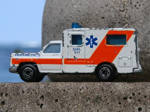 Matchbox Ambulance