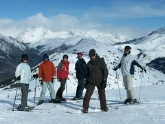 snowshoe, ski equipment, winter sport, footwear, mountain, winter, ski, skiing, piste, sports, snow, mountaineering, mountain range, ski touring, summit, extreme sport, mountain guide, ski mountaineering, telemark skiing,