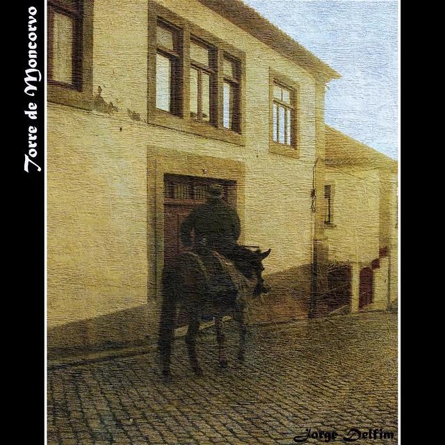 A cavalo em Torre de Moncorvo