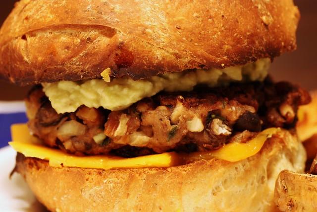 homemade veggie burgers | Flickr - Photo Sharing!