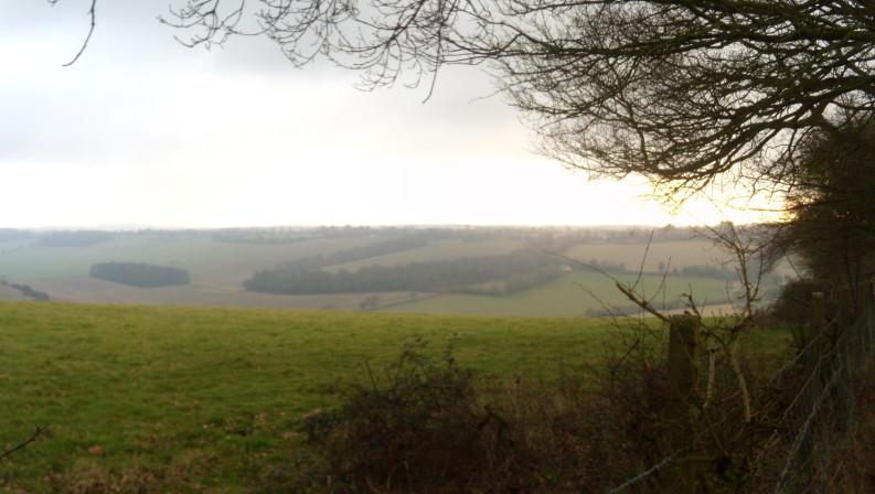 View Saunderton Circular via Bledlow