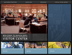 Visitor Center Website (Kiosk)