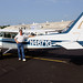 KDCU, Decatur, Alabama - Moi with our rented Cessna 172N by VFR Photography