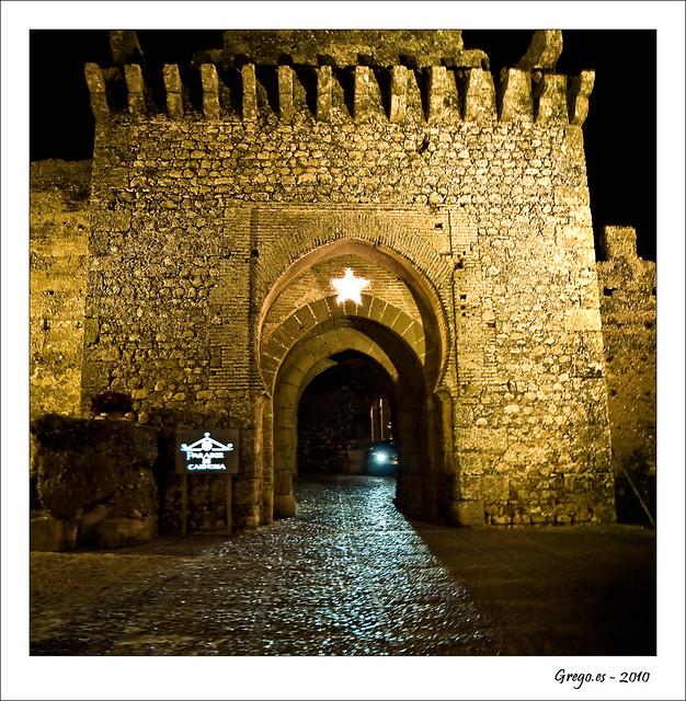 Puerta del Parador de Carmona