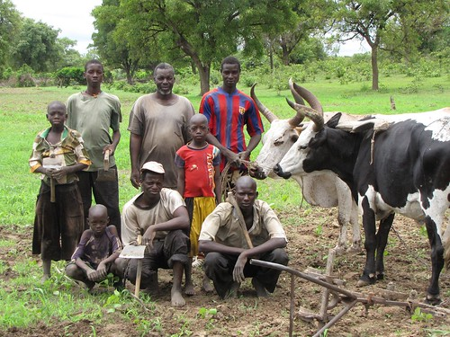 Farm Family in Mali 2009