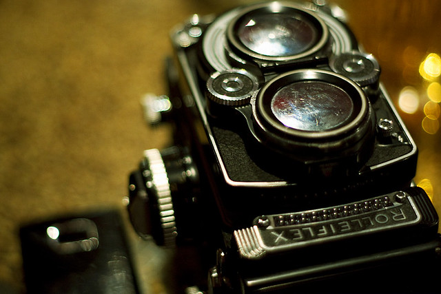 Portrait of the Rolleiflex as a Rolleiflex