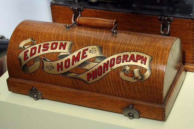 Edison Home Phonograph National Museum Of Scotland