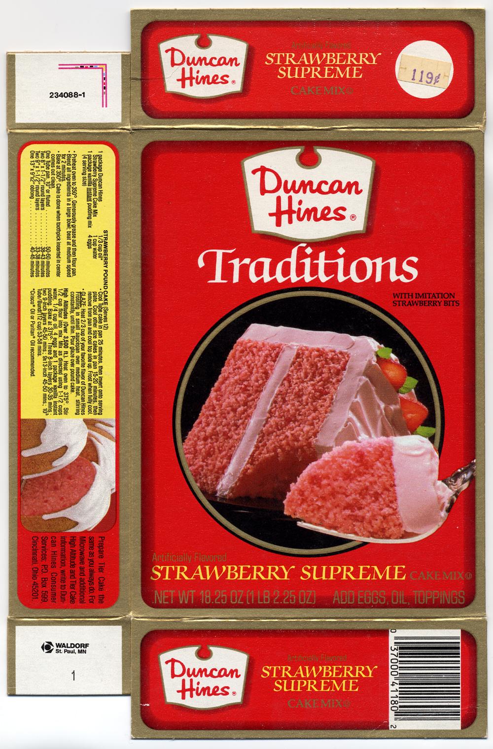 Duncan Hines Strawberry Jello Cake Recipe