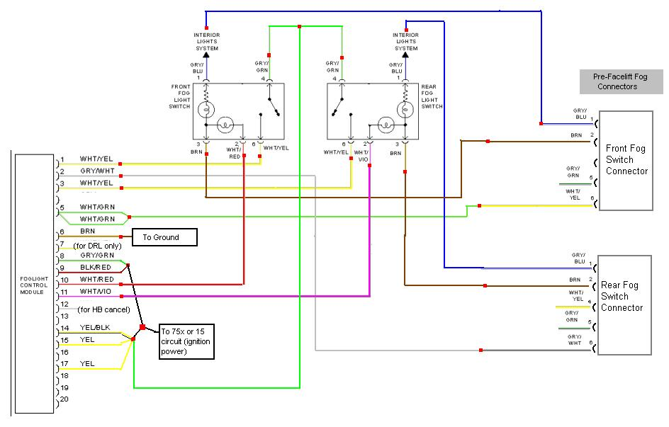 Audi A4 Electrical Diagram