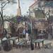 Vincent van Gogh, La guinguette, Paris, 1886