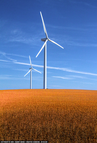 morning portrait fall field clouds rural energy wind bluesky alternativeenergy electricity psd soybeans windpower turbines windturbines 34view