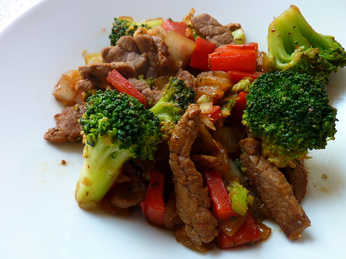 Spicy Hot Beef Broccoli