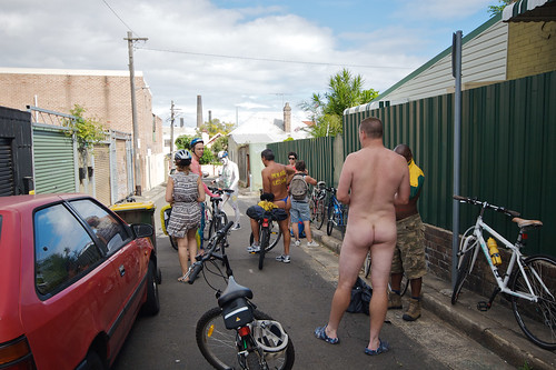 World Naked Bike Ride Sydney
