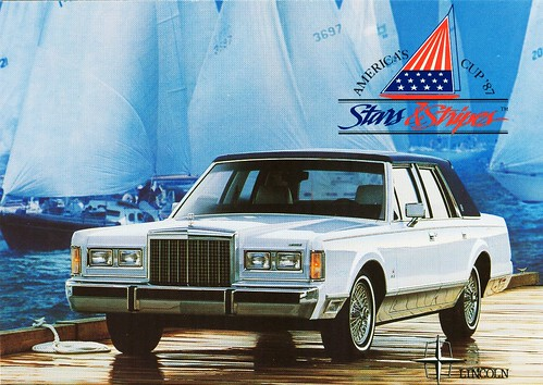 "1987 Lincoln Town Car ""Stars & Stripes"" Edition"