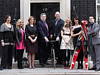PM and Sarah Brown meet Sports Relief participants