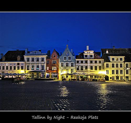 Tallinn by Night - Reakoja Plats