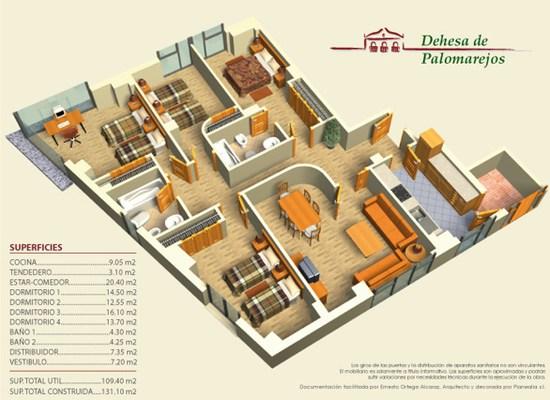 Dise o de planos en 3d visualizar antes de construir for Empresas constructoras de casas