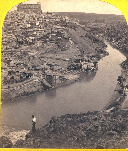 Vista de Toledo hacia 1860 por Ernest Làmy