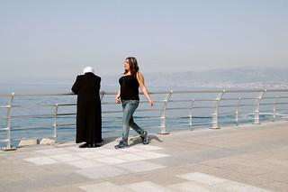 solo woman in Lebanon