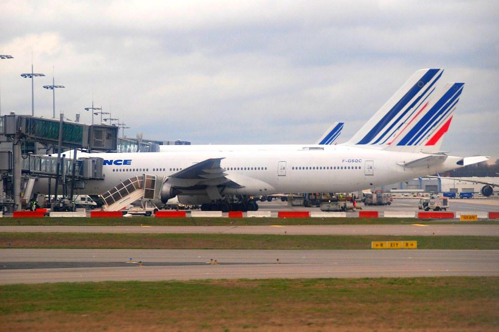 F-GSQC - B77W - Air France