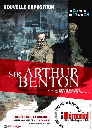 Sir Arthur Benton au musée by Pegasus & Co